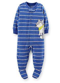 Carter's Baby Boys' Striped Fleece Footie (Baby) - Wolf - 18 Months Carter's $13.99 - $19.92 http://smile.amazon.com/dp/B00MBHDPZC/ref=cm_sw_r_pi_dp_RASEub1HDZQ5Y