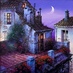 La azotea , de Luis Romero