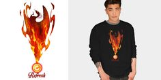 """phoenix/refresh"" t-shirt design by gh30rgh3"