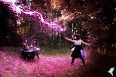 """Witches"" by: Photography Dominik Lauter; picture editing: Céline Claire Stöger - Graphic Design & Digital Art / www.cc-graphicdesign.com)"