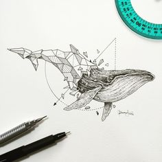 Mindblowing 'Geometric Beasts' Illustrations by Kerby Rosanes