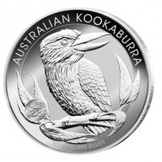 Kookaburra 1oz silver with privy mark DRAGON, limited mintage of only 80.000 pieces