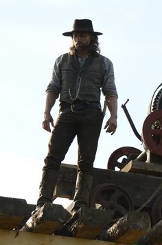 """Anson Mount in Hell on Wheels from """"The White Spirit"""""""