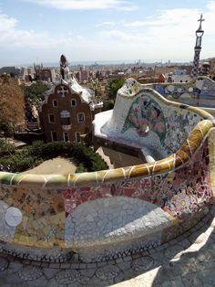 Park Güell. Barcelona. Gingerbread homes ;)
