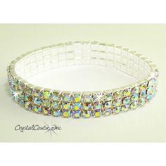 Crystal AB/Silver