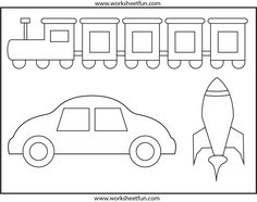 coloring pages for transportation units - photo#12