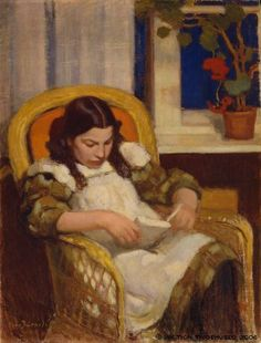 Järnefelt, Eero  Girl Reading, 1909