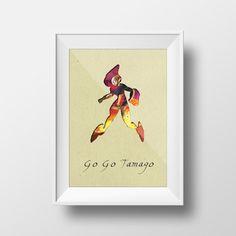 BIG HERO 6 Go Go Tamago Disney Inspired PIXAR by YOUTOM on Etsy