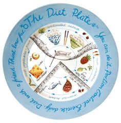 The Diet Plate® - FEMALE Version. Weight Loss and Portion Control Made Easy.