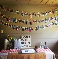 engagement party decor || www.PerfectDayWeddingPlanners.com