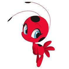Ladybug Tikki, Miraclous Ladybug, Tikki Miraculous, Miraculous Ladybug Fan Art, Cat Noir, Luther, Little Pony, Easy Drawings, Animation