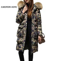 Neu Weiblich Wollmantel Pelzkragen Koreanische Version Damenmode Jacken Lang