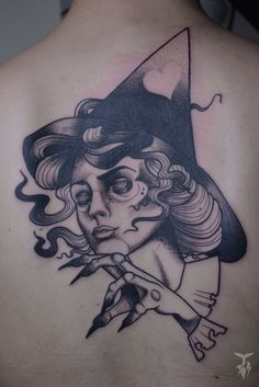 Bogi Tóth - Wicked Witch of Central Europe - FINE HEART CUSTOM INK https://www.facebook.com/FineHeartCustomInk