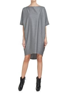 LOOMA dress/ gray | Apparel \ Dresses \ Mini Apparel \ Dresses \ Midi Apparel \ SHOP ALL DESIGNERS \ Nah-nu Dresses Plus sizes SPRING coat MINIMAL | MOSTRAMI.PL Dress Outfits, Fashion Dresses, Gray Dress, Plus Size, Shirt Dress, Grey, Coat, Casual, Shirts