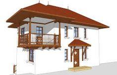 Imagine similară Traditional House, Gazebo, Outdoor Structures, Design Interior, Home Decor, Cottages, Ideas, Kiosk, Decoration Home