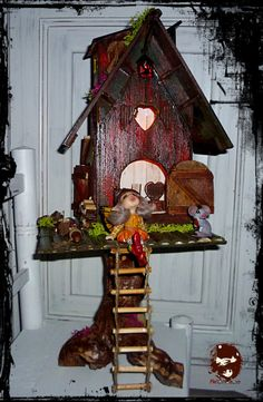 house fairy light in tree €250