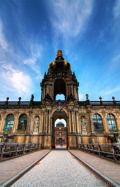 Dresden's Zwinger, Dresden, Germany