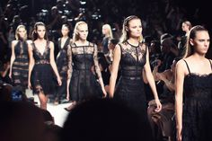 Black favorites at Elie Saab