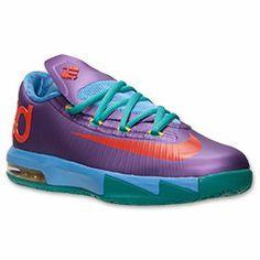 9b1a18e755680d Boys  Grade School Nike KD VI Basketball Shoes