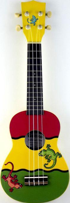 New picture of my Mainland Reggie Gecko Soprano #LardysUkuleleOfTheDay #Ukulele ~ https://www.pinterest.com/lardyfatboy/lardys-ukulele-of-the-day/ ~
