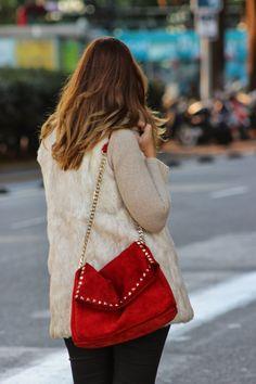 Miss trendy Barcelona: Detalles en rojo