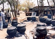 About the Food of Botswana School Leavers, Soup Kitchen, Charcoal Grill, French Press, Kitchen Appliances, Kitchens, Coffee Maker, Eat, Outdoor Decor