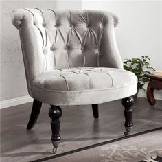 Shades Of Grey, Accent Chairs, Glamour, Furniture, Home Decor, Upholstered Chairs, Decoration Home, Room Decor, Shades Of Gray Color