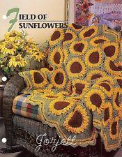 Field of Sunflowers Afghan, Annie's crochet pattern