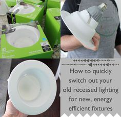 Easy DIY Home Improvement Project: Energy Efficient Lighting Switch In the past decade or so there has been an evolution of the light bulb, going from the standard incandescent