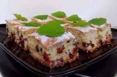 LEMON plum-cake