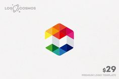 Method Abstract Logo by Logo Cosmos on Creative Market