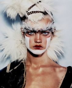 Exotic. Steven Klein photography. Model Natalia Vodianova.