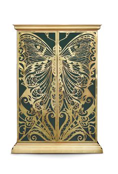 More informations @ http://www.bykoket.com/guilty-pleasures/casegoods/mademoiselle-armoire.php