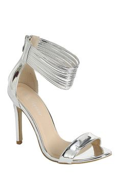 Ladies fashion simple, sophisticated and simply chic. high heel sandal,  peep almond toe