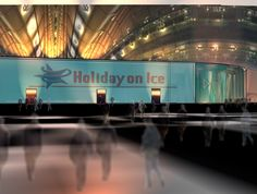 idea sketch for holiday on ice - rolf pauw