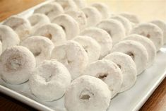 "White Donuts on ""Whitsunday"" - Pentecost."