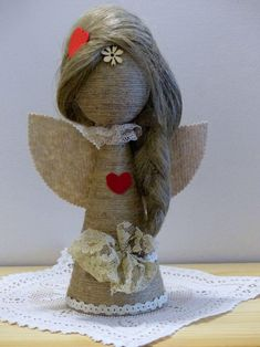 Jute, Diy And Crafts, Christmas Crafts, Teddy Bear, Toys, Handmade, Xmas, Scrappy Quilts, Burlap