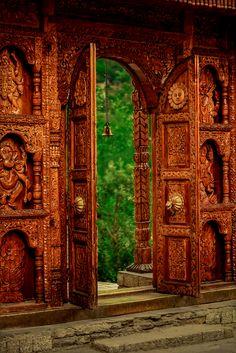 By Prayash Giria Kumra Fort in Kinnaur, Sangla Village, India