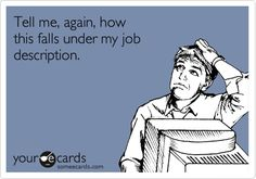 My latest blog post from www.creativegapminding.com. Rethinking job descriptions.