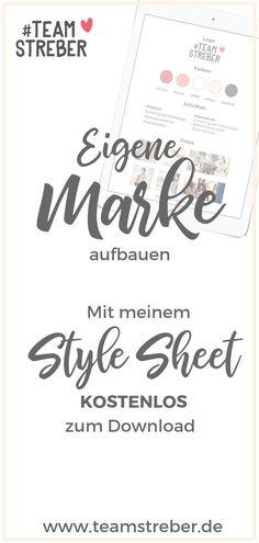 Markenbildung: Eine eigene Marke aufzubauen trägt zu deinem Unternehmenserfolg bei.   Mein Style Sheet hilft dir dabei! Kostenlose Powerpoint Datei, Printable.     Mit deiner Marke hebst du dich von deiner Konkurrenz ab, Kundenbindung garantiert. Eine Marke weckt vertrauen!     Darmstadt, Büttelborn, Mainz, Groß-Gerau, Riedstadt, Weiterstadt    #Webdesign Darmstadt - #Logodesign #Markenbildung - Marke aufbauen - Markenfarben - Erfolgreich sein - Webseiten Gestaltung - Website Design Web Design, Logo Design, Website Design, Design Websites, Flyer, Online Marketing, Blog, Design Inspiration, Branding