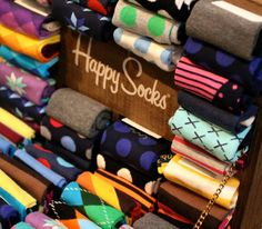 Assorted Happy Socks   ADDRESS 436 West Broadway NY (between Prince and Spring Street) NY 10012 USA