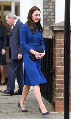 The Duchess Of Cambridge Visits The Anna FreudCentre