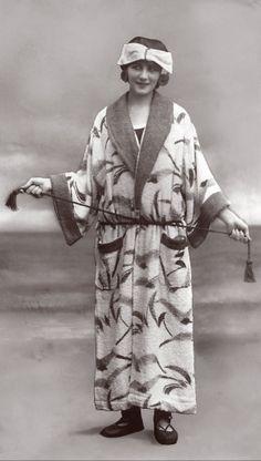 Beach robe, 1922.
