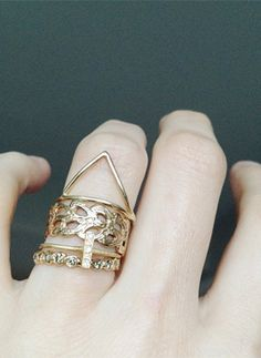 I recognize an Odette NY ring or two amongst these pretties.  via FIELD & SEA