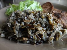 ¿Cómo hacer arroz salvaje? Aquí la receta paso a paso: www.recomelona.wordpress.com Dale click!