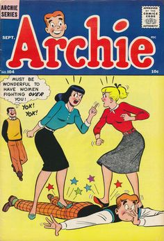 A cover gallery for the comic book Archie Archie Comics Characters, Archie Comic Books, Vintage Comic Books, Comic Book Characters, Vintage Comics, Comic Character, Comic Books Art, Comic Art, Book Cover Art