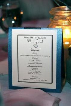 1000 images about menu cards on pinterest wedding menu for Table 52 brunch menu