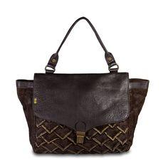 4f453bb70b45d  Desiderius  Origami  Damen  Handtasche  Leder