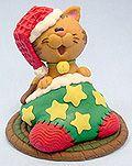 Clay Christmas Cat tutorial <3