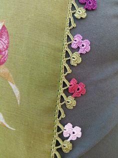Crochet Lace Edging, Crochet Borders, Crochet Art, Irish Crochet, Crochet Flowers, Baby Knitting Patterns, Crochet Patterns, Embroidery Stitches, Hand Embroidery